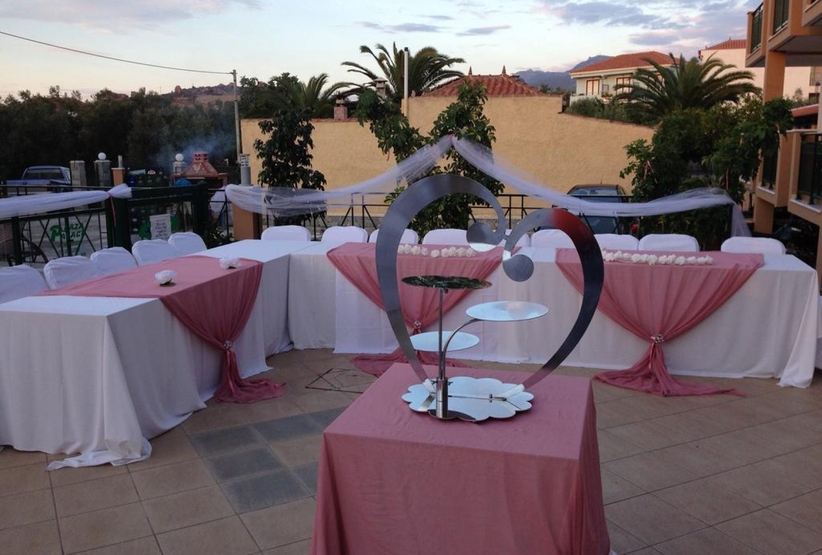 Plaza Palace Hotel wedding event